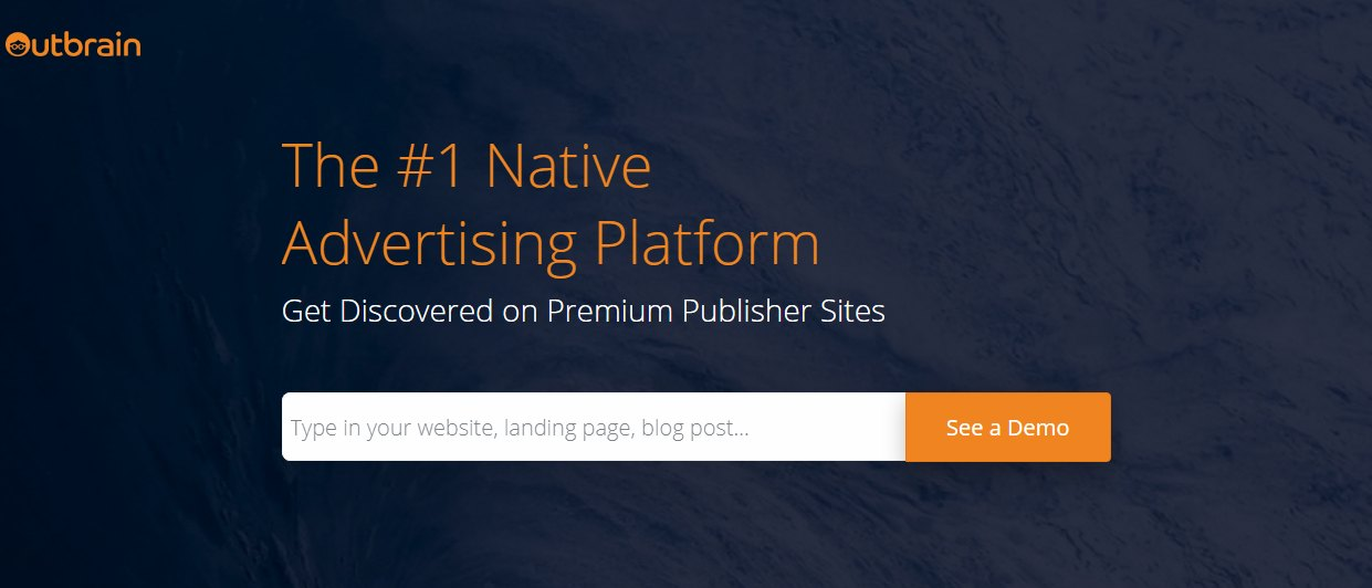 Outbrain Pay Per Click Affiliate Peograms