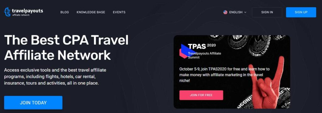 Travelpayouts travel affiliate programs