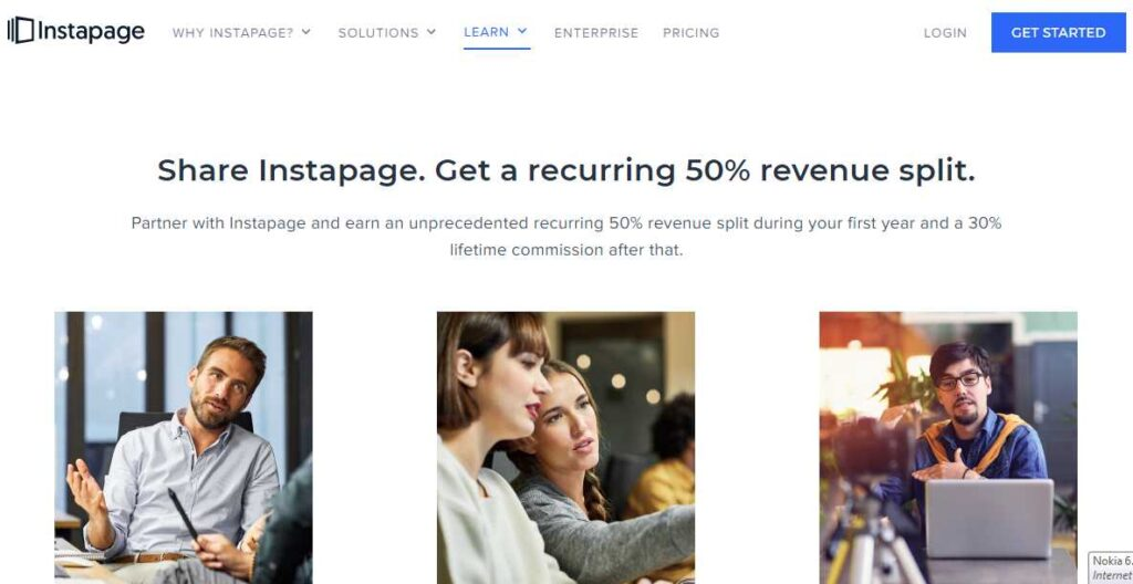 InstaPage Affiliate