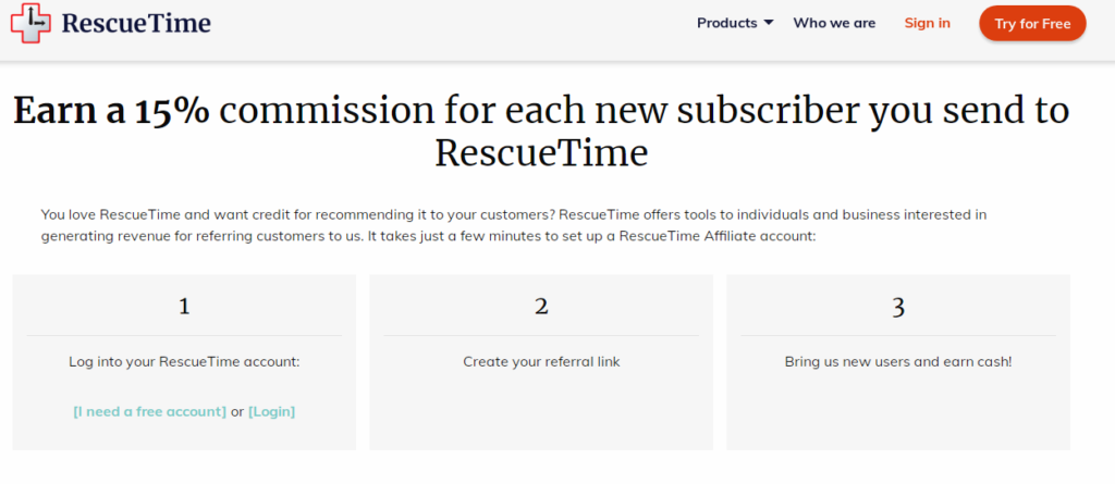 Rescue Time Best Recurring Affiliate Programs